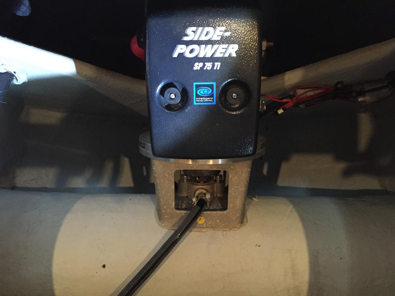 Bow thruster motor