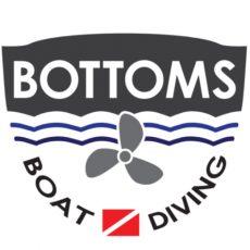 Bottoms Boat Diving Logo